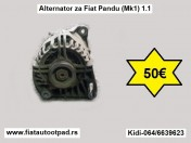 Alternator za Fiat Pandu (Mk1) 1.1